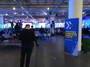 The main stage at the Lean Startup Summit